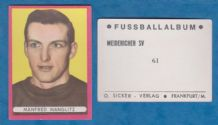 Meidericher Manfred Manglitz West Germany 61